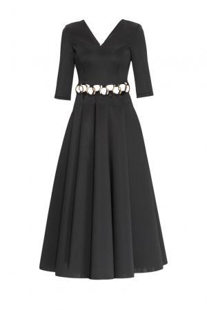 Платье 159520 Anna Miminoshvili. Цвет: черный