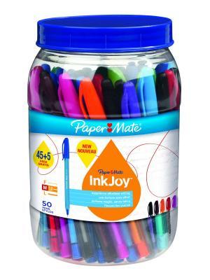 Набор шариковых ручек INKJOY 100 Paper Mate.. Цвет: синий, зеленый, красный