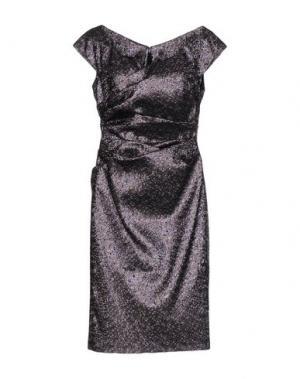 Платье до колена TALBOT RUNHOF. Цвет: светло-фиолетовый