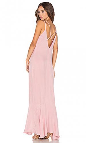 Платье ash AGAIN. Цвет: розовый