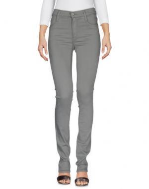 Джинсовые брюки JAMES JEANS. Цвет: зеленый-милитари
