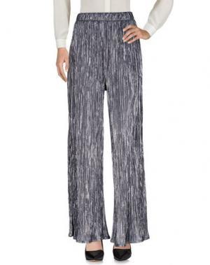 Повседневные брюки SOALLURE. Цвет: стальной серый