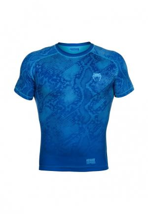 Футболка спортивная Venum. Цвет: синий