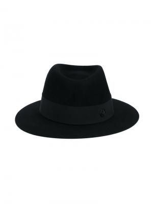 Фетровая шляпа Andre Maison Michel. Цвет: чёрный