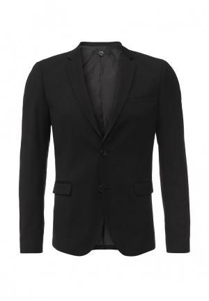 Пиджак oodji. Цвет: черный