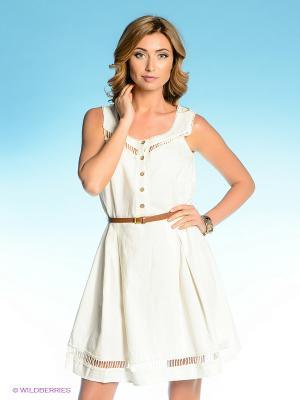Платье Vilatte. Цвет: белый