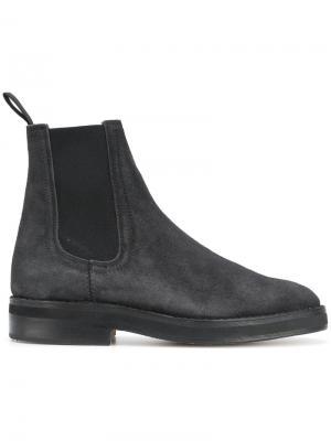 Ботинки Челси Yeezy. Цвет: чёрный