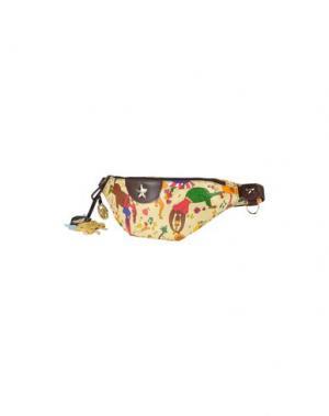 Рюкзаки и сумки на пояс PIERO GUIDI. Цвет: желтый