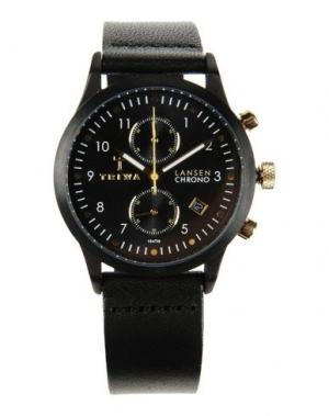 Наручные часы TRIWA. Цвет: черный