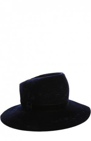 Шляпа Gigi Burris Millinery. Цвет: темно-синий
