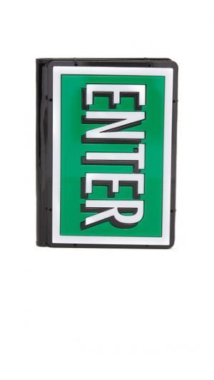 Обложка для паспорта ENTER & EXIT Yazbukey