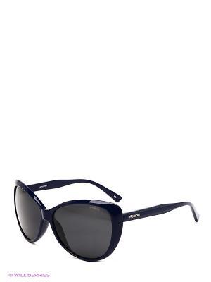Солнцезащитные очки Polaroid. Цвет: синий, черный