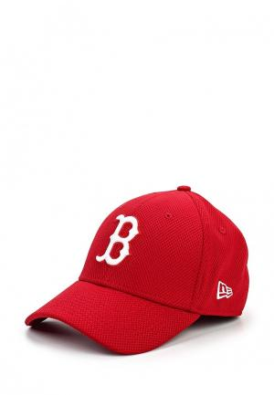 Бейсболка New Era. Цвет: красный