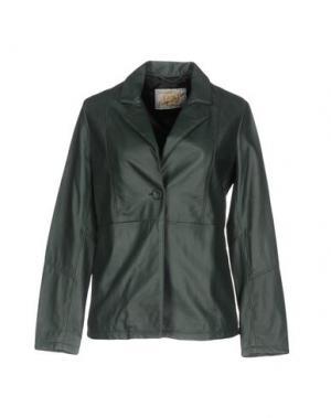 Пиджак VINTAGE DE LUXE. Цвет: темно-зеленый