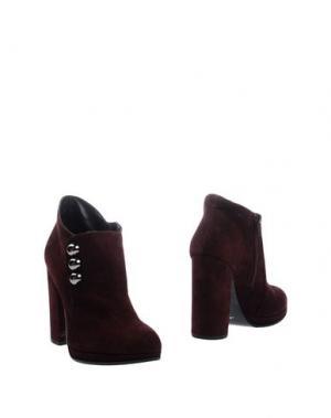 Ботинки ELIANA BUCCI. Цвет: красно-коричневый