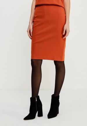 Юбка Ruxara. Цвет: оранжевый