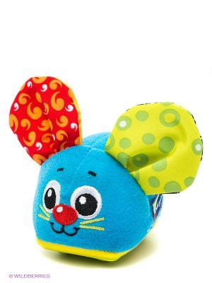 Игрушка инерционная Мышка Playgro. Цвет: голубой, красный, желтый