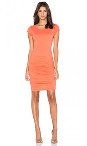 Платье ciroc Velvet by Graham & Spencer. Цвет: оранжевый