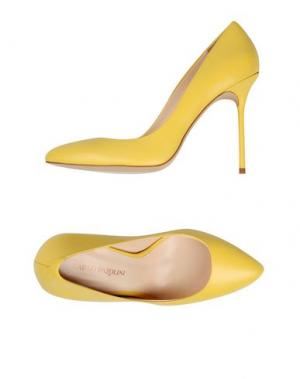 Туфли CARLO PAZOLINI. Цвет: желтый