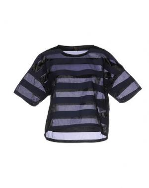 Блузка JIJIL. Цвет: темно-синий