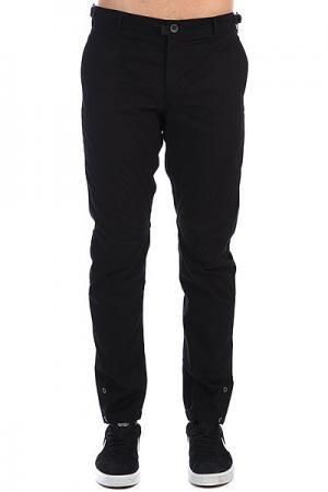 Штаны прямые  Btns Pants Черный Skills. Цвет: черный