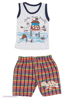 Комплект одежды Babycollection. Цвет: коричневый