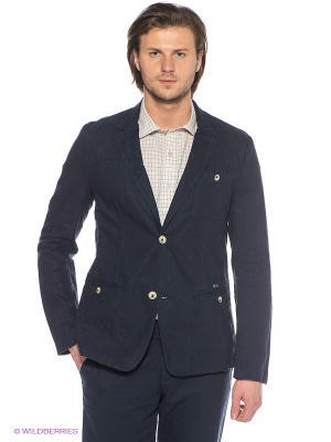Пиджак Finn Flare. Цвет: темно-синий