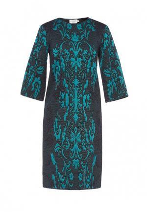 Платье Soeasy. Цвет: бирюзовый