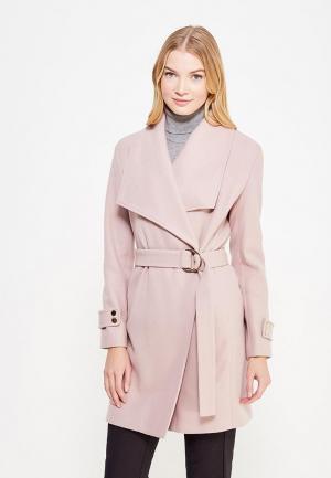 Пальто Miss Selfridge. Цвет: розовый