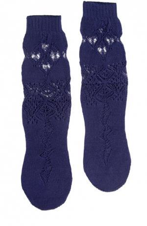Носки Antipast. Цвет: темно-синий