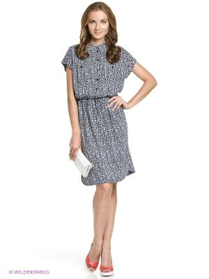 Платье STEINBERG. Цвет: темно-синий