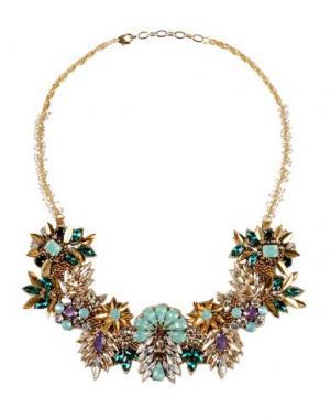 Ожерелье DEEPA GURNANI. Цвет: золотистый