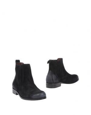Полусапоги и высокие ботинки BRUNO MAGLI. Цвет: черный