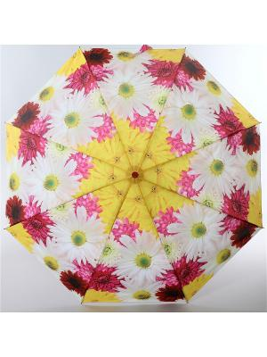 Зонт Airton. Цвет: светло-желтый, белый, розовый
