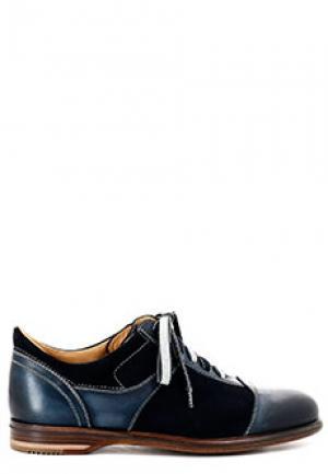 Ботинки SMALTO. Цвет: синий