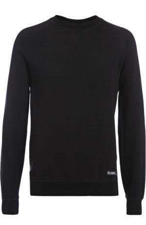 Пуловер джерси Elevenparis. Цвет: черный