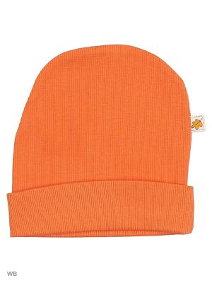 Шапочка кашкорсе Агат. Цвет: оранжевый