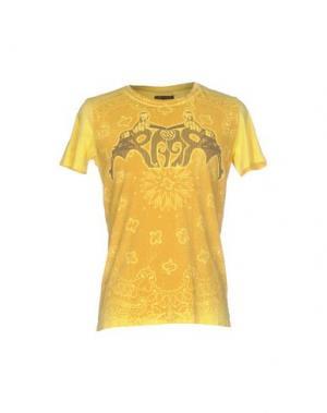 Футболка RA-RE. Цвет: желтый