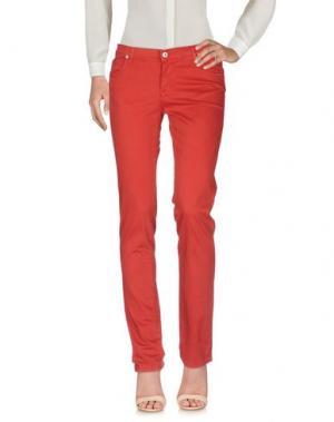 Повседневные брюки ROŸ ROGER'S. Цвет: красный
