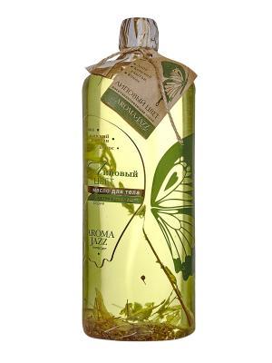 Масло жидкое для тела Липовый цвет, 1000 мл АРОМАДЖАЗ. Цвет: зеленый