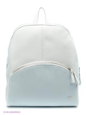 Рюкзак Esse. Цвет: белый, голубой