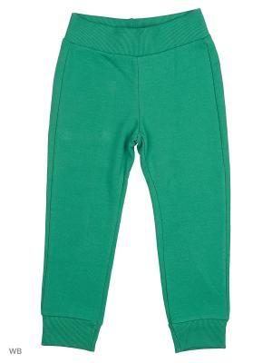Брюки United Colors of Benetton. Цвет: светло-зеленый, молочный