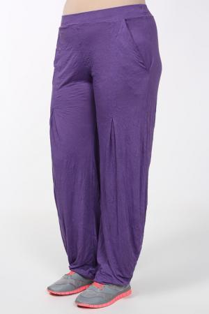 Брюки STF. Цвет: фиолетовый