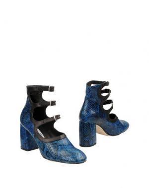 Полусапоги и высокие ботинки MIISTA. Цвет: синий
