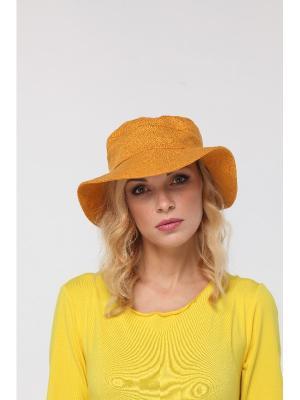 Шляпа Lak Miss. Цвет: горчичный