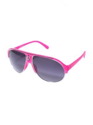 Солнцезащитные очки Mitya Veselkov. Цвет: розовый