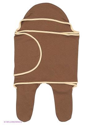 Конверт для малышей Mum`s Era. Цвет: коричневый