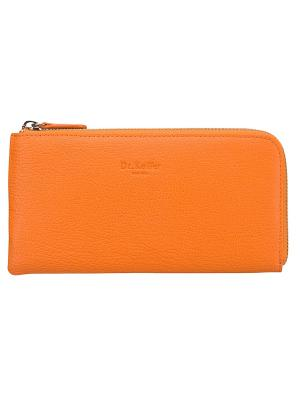 Портмоне Dr. Koffer. Цвет: оранжевый