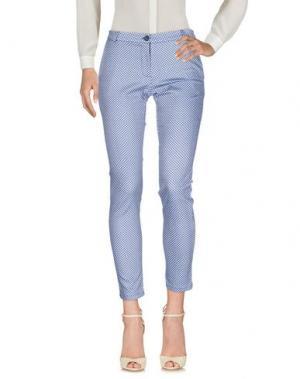 Повседневные брюки PLEASE. Цвет: темно-синий