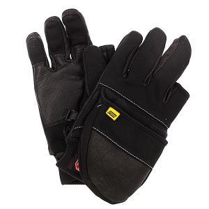 Перчатки сноубордические  Transfilmer Mitt Black Pow. Цвет: черный